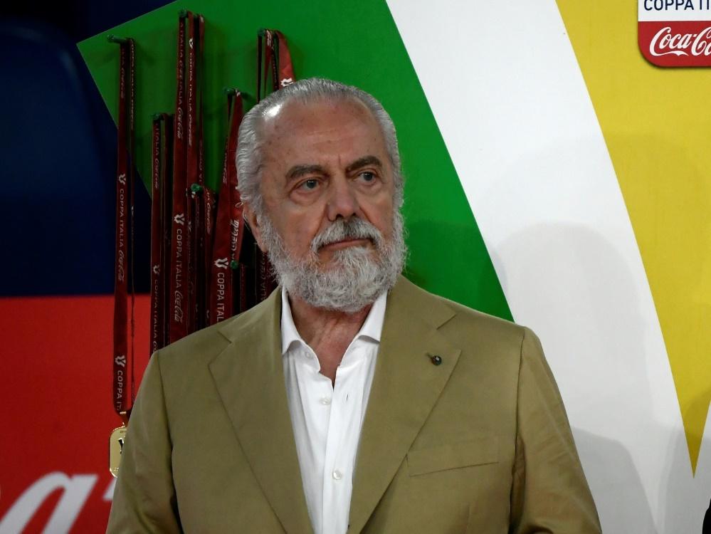 Präsident des SSC Neapel: Aurelio De Laurentiis