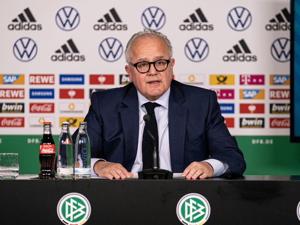 DFB-Präsident Fritz Keller will EM klimaneutral halten