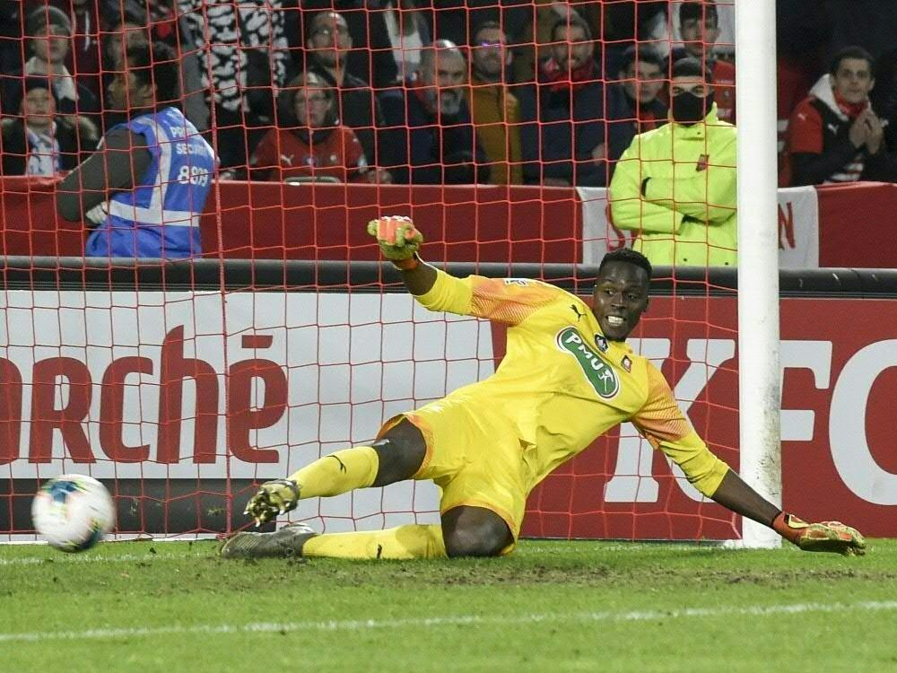 Edouard Mendy erhält bei Chelsea einen Fünfjahresvertrag