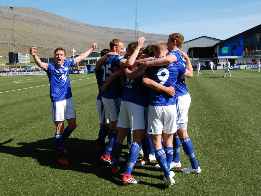 In den Play-offs der Europa League: KI Klaksvik