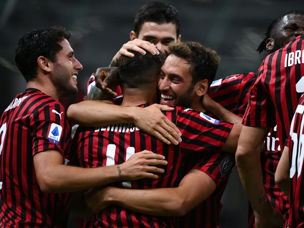 Mailand war am Ende der glückliche Sieger