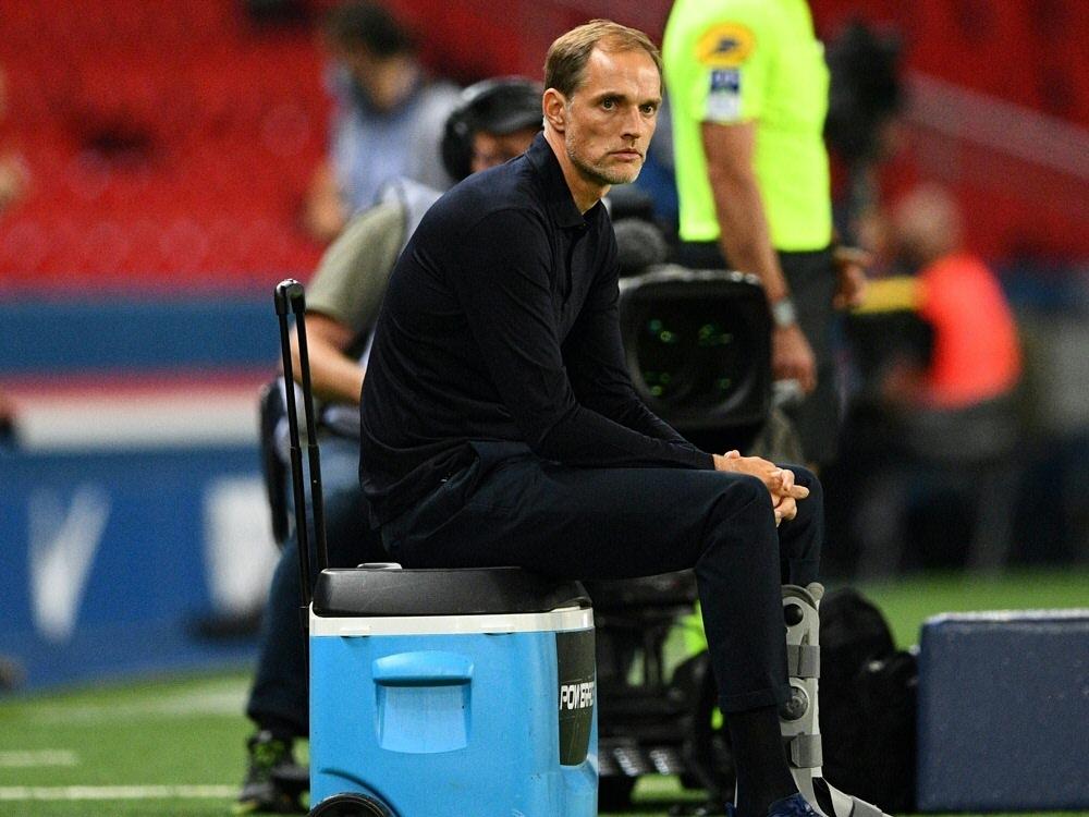 Paris-Trainer Thomas Tuchel macht sich Sorgen