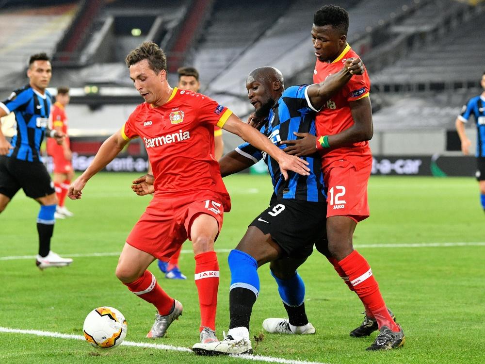 Im Vorjahr schied Leverkusen gegen Inter Mailand aus
