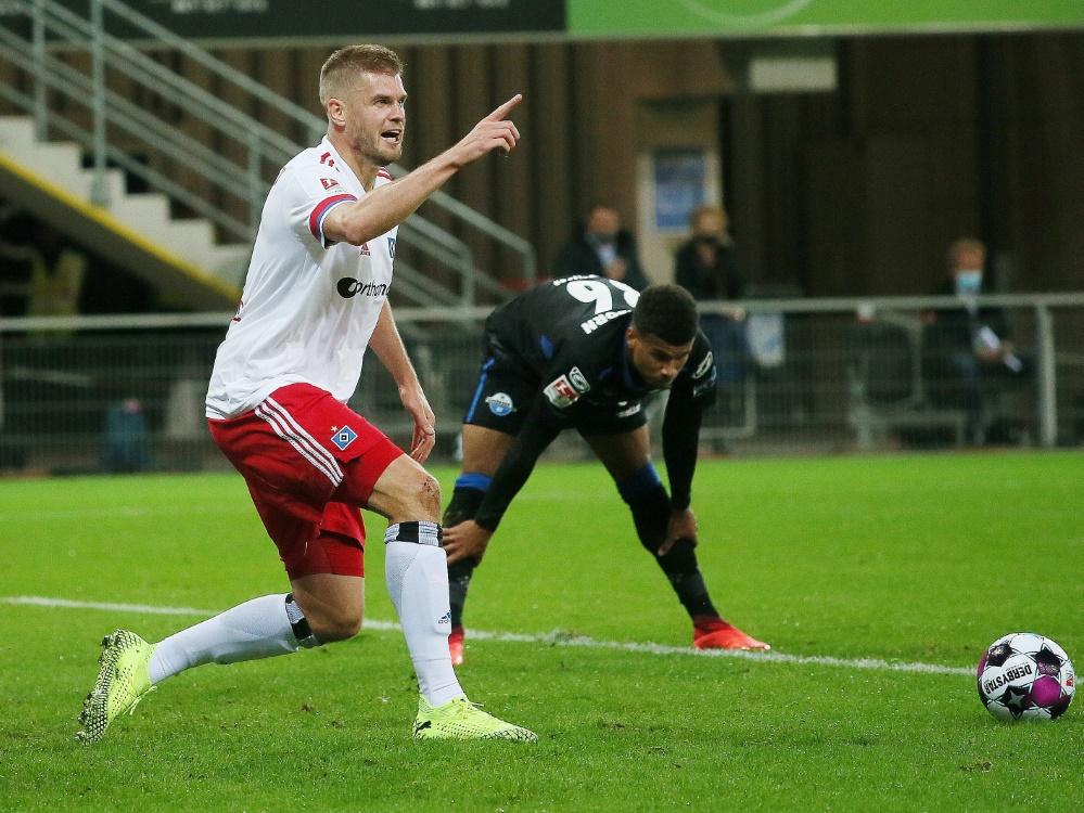 Simon Terodde traf gegen den SC Paderborn doppelt