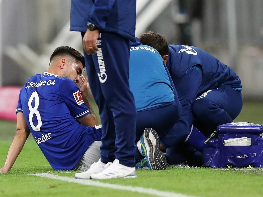 Suat Serdar verletzte sich im Spiel bei RB Leipzig