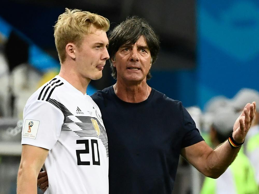 Löw setzt in der Nationalmannschaft auf Julian Brandt