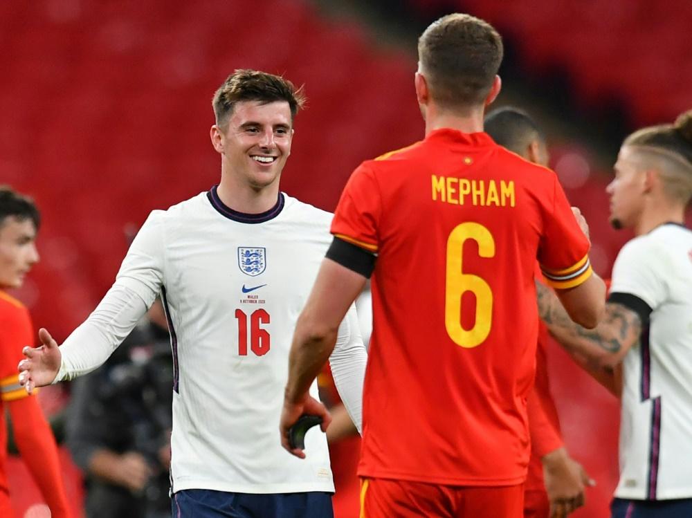 Sieg für England gegen Wales