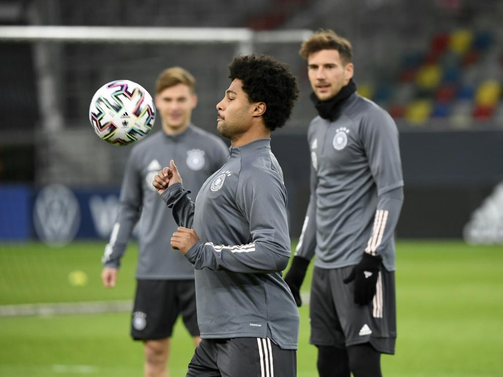 DFB: Gnabry und Goretzka (r.) zählen zum Bayern-Block