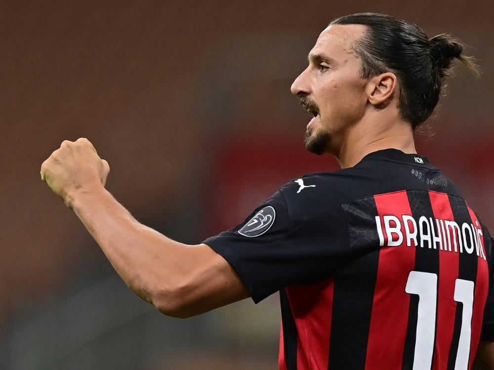 Ibrahimovic kehrt beim Mailänder Derby zurück