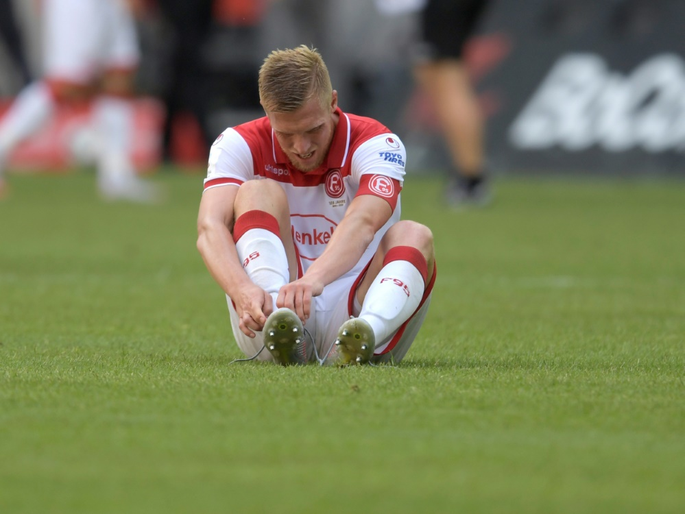 Trotz Treffer von Hennings bleibt die Fortuna ohne Sieg