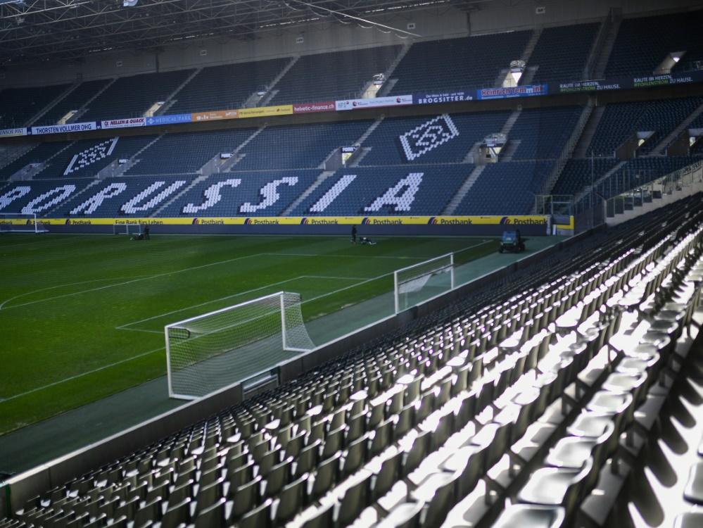 Gegen Real Madrid bleibt der Borussia-Park leer