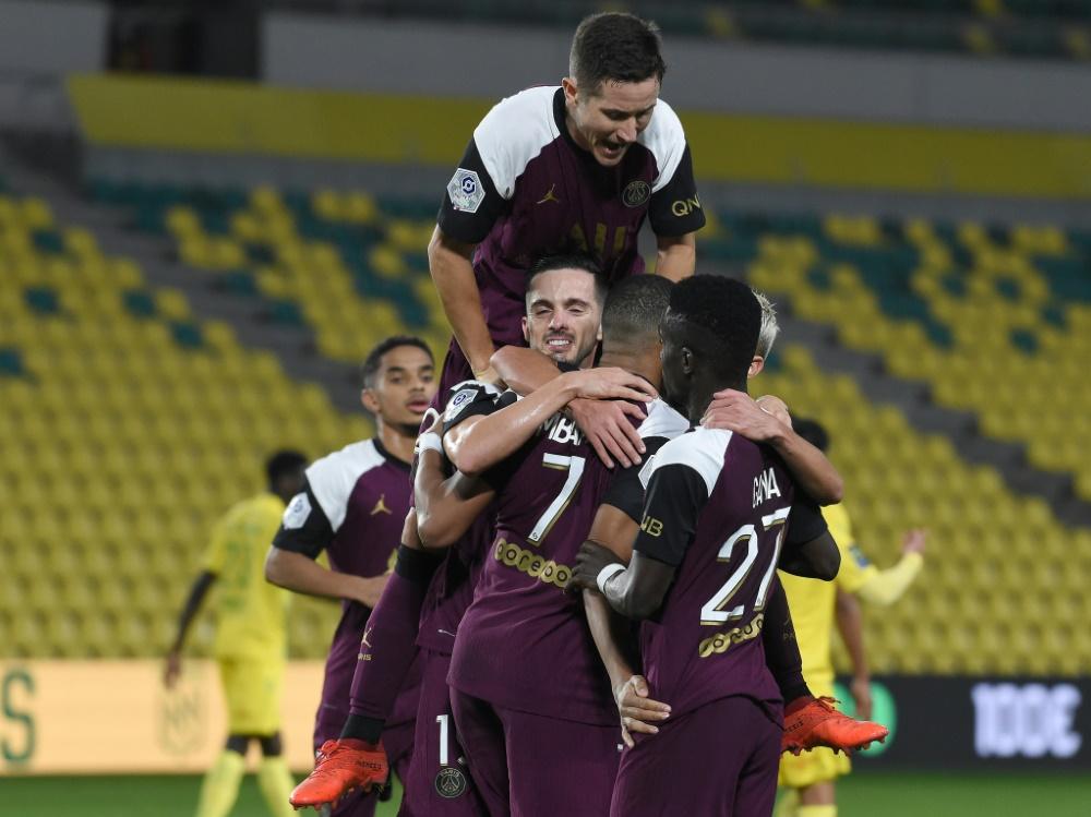 PSG feierte einen 3:0-Erfolg