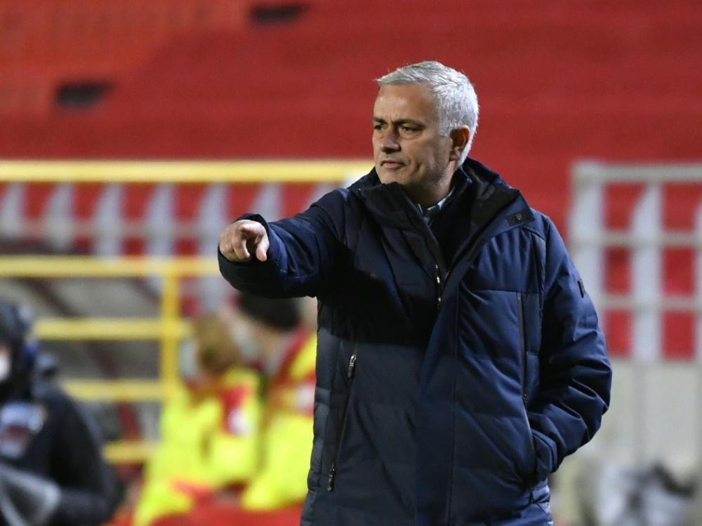 Mourinho unzufrieden mit ganzer Startelf nach Niederlage