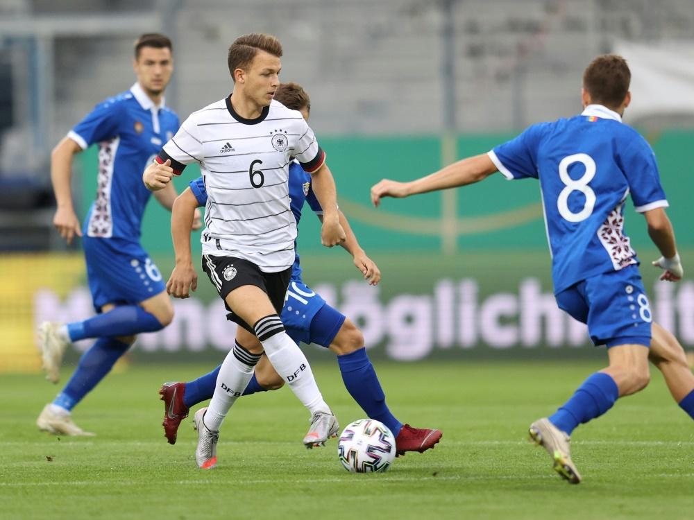 Geiger fehlt U21 verletzungsbedingt