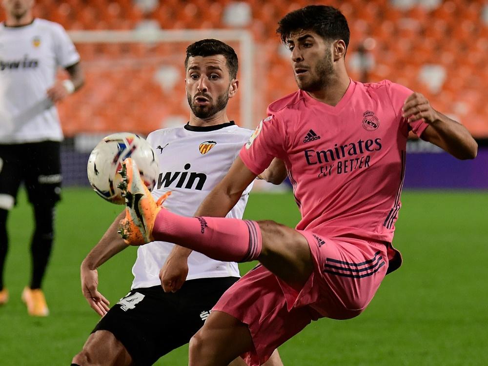 Real verlor in Valencia deutlich