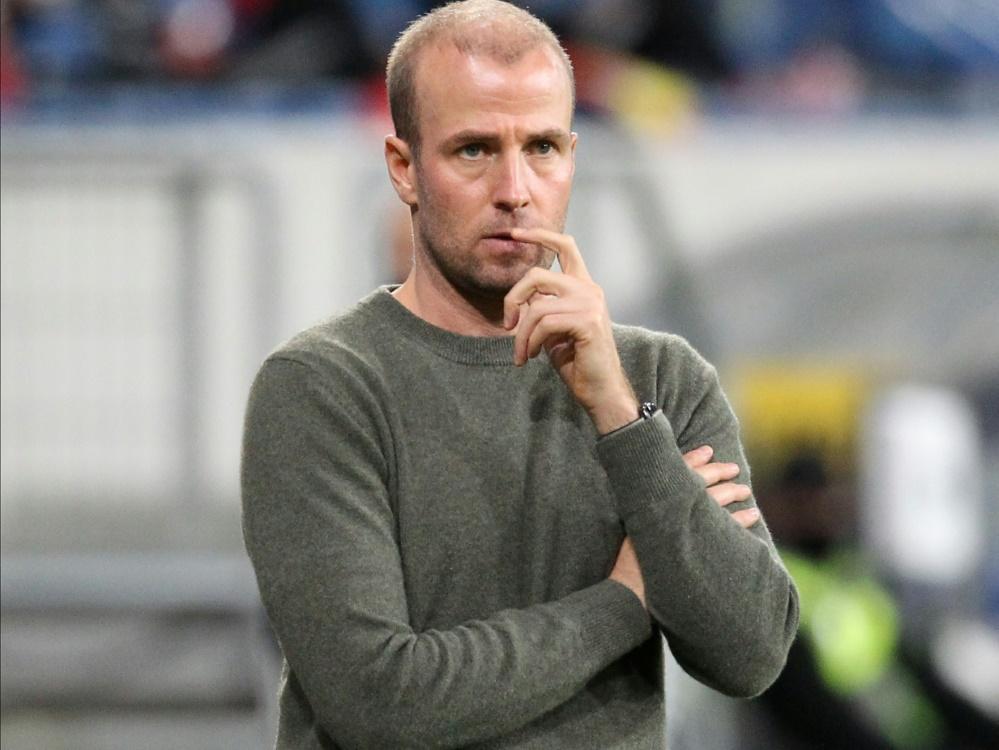 TSG-Trainer Sebastian Hoeneß