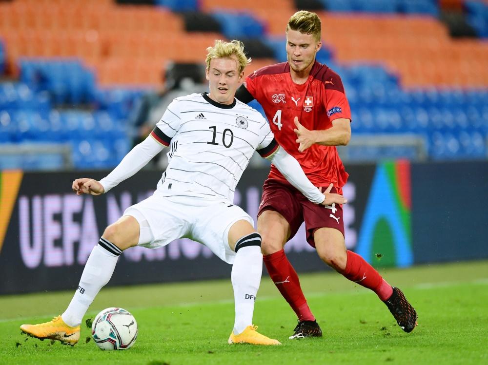 Julian Brandt konnte gegen Tschechien nicht überzeugen