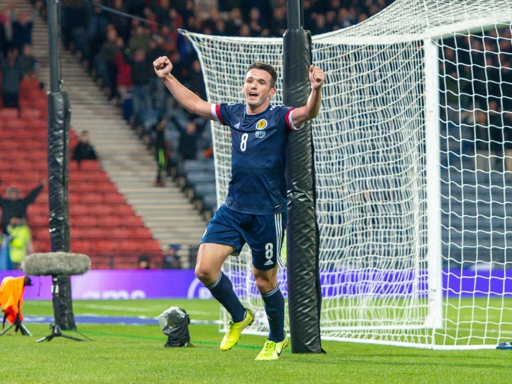 Schottland erstmals seit 1996 bei einer Fußball-EM
