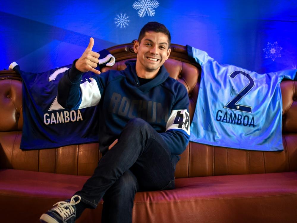 Cristian Gamboa freut sich über die Vertragsverlängerung
