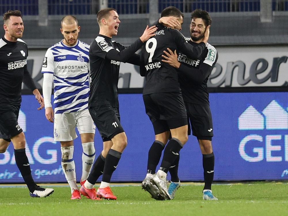 Duisburg unterlag deutlich gegen Verl