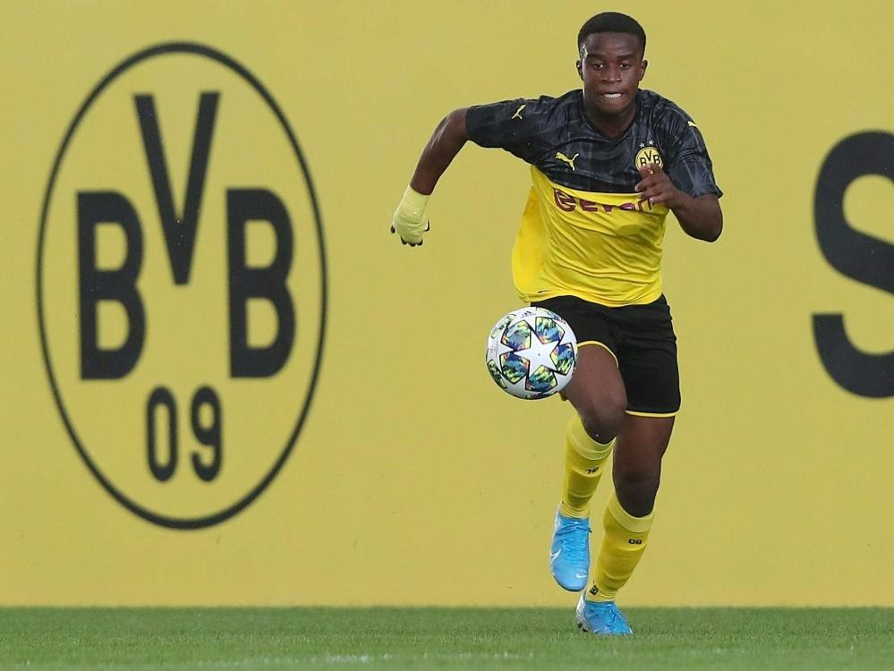 Moukoko sitzt gegen Hertha BSC auf der Bank
