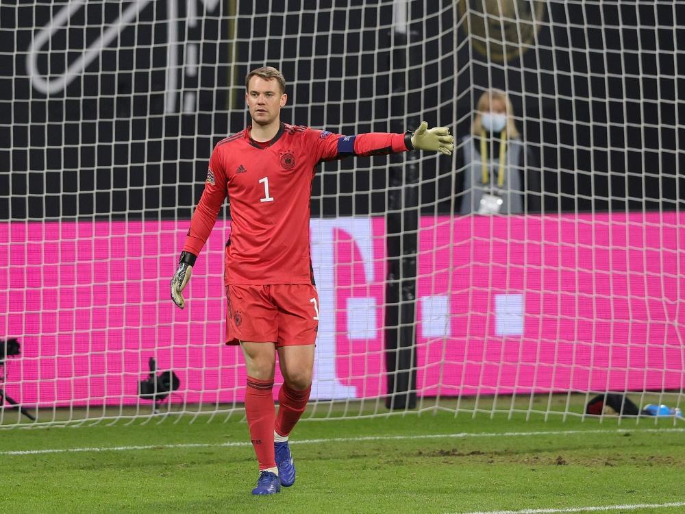 Rekord-Nationaltorhüter Manuel Neuer