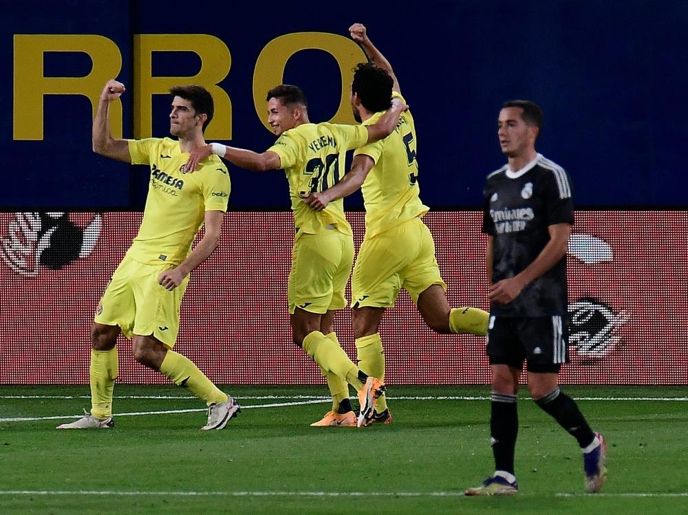 Bewies vom Punkt Nerven: Gerard Moreno (l.)
