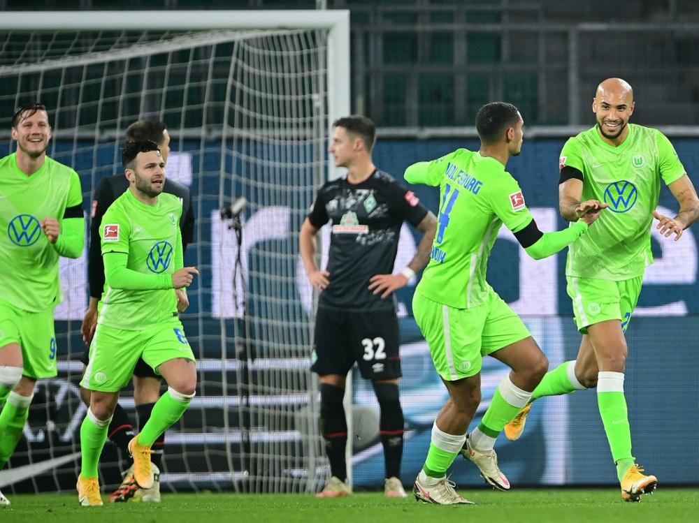 Wolfsburg und Werder boten ein wahres Offensivspektakel