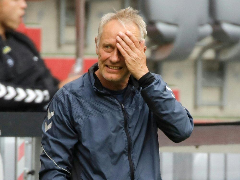 Freiburg und Trainer Streich verpassen Befreiungsschlag