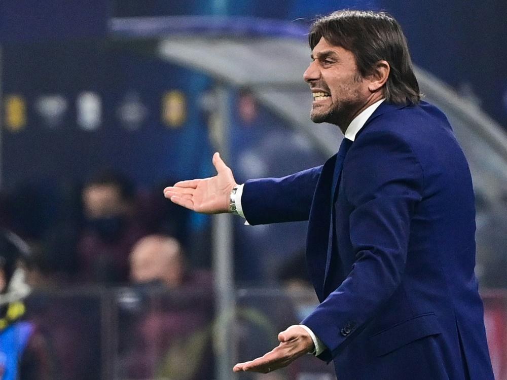 Trifft mit Inter auf Gladbach: Coach Antonio Conte