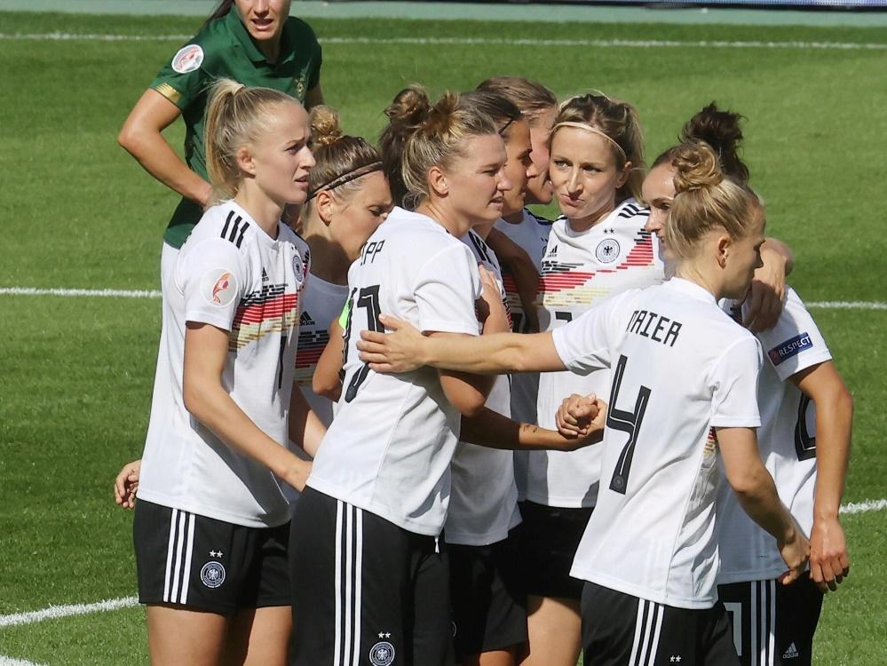 Perfekte Qualifikation für die DFB-Frauen