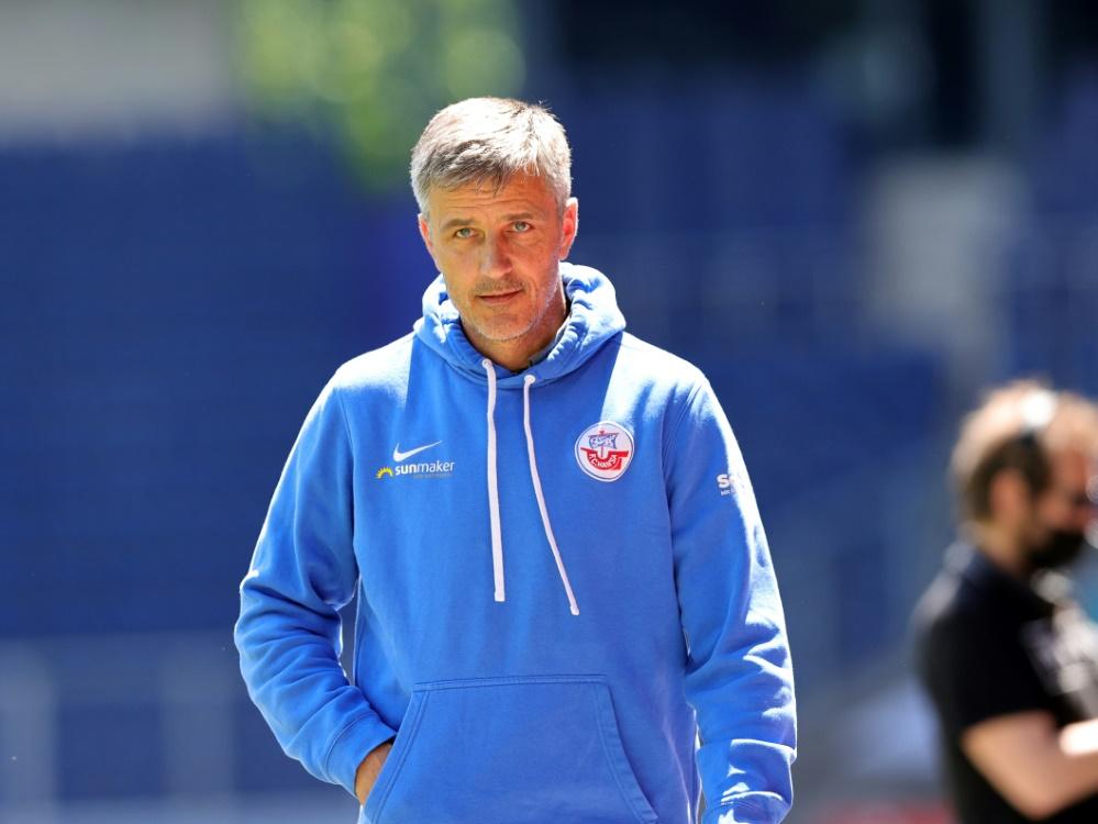 Sieg für Hansa Rostock und Trainer Jens Härtel