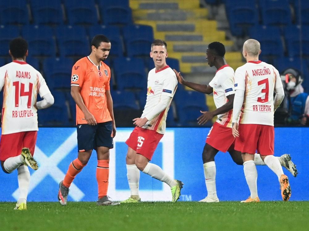 Leipzig schlägt Basaksehir Istanbul mit 4:3