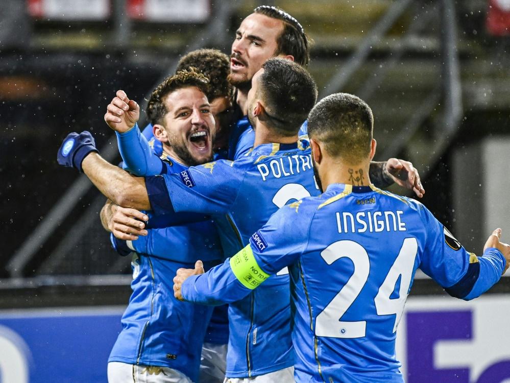 Der SSC Neapel feiert einen 2:1-Heimsieg