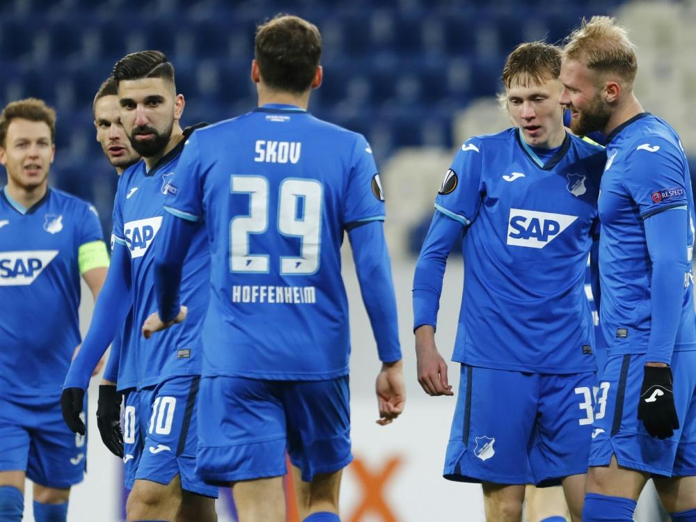 Hoffenheim siegt im letzten Gruppenspiel gegen Gent