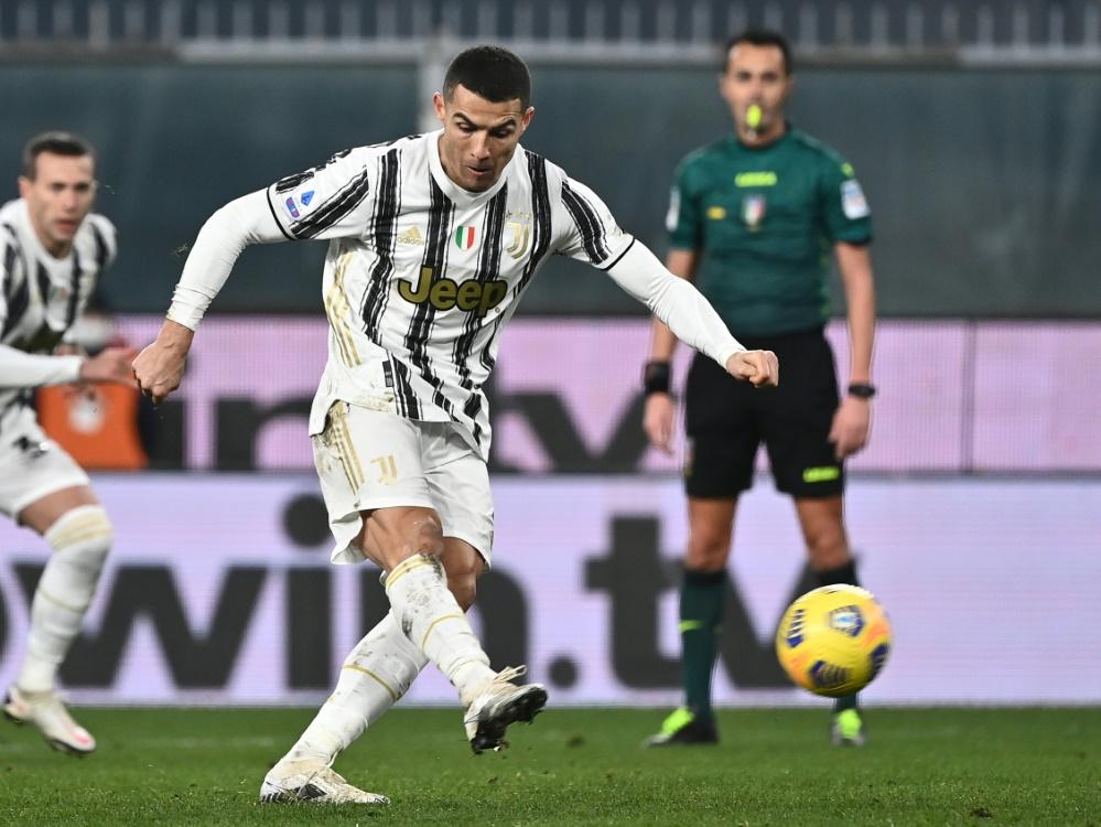 Ronaldo entscheidete die Partie gegen Genua fast alleine