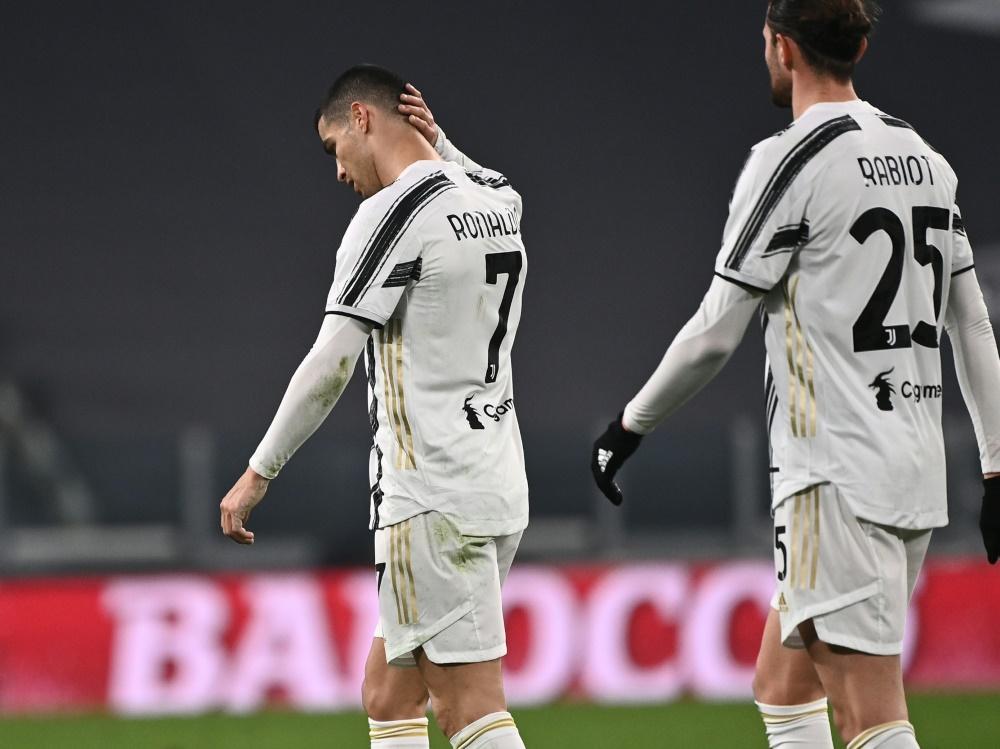 Ronaldo vergibt einen Elfemter gegen Atalanta