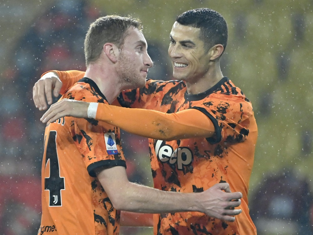 Juventus gewinnt 4:0, Ronaldo trifft doppelt