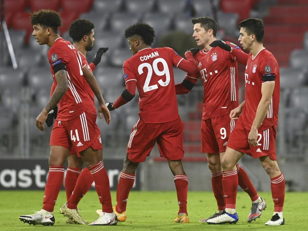 Starke Gegner für die deutschen Teams im Achtenfinale