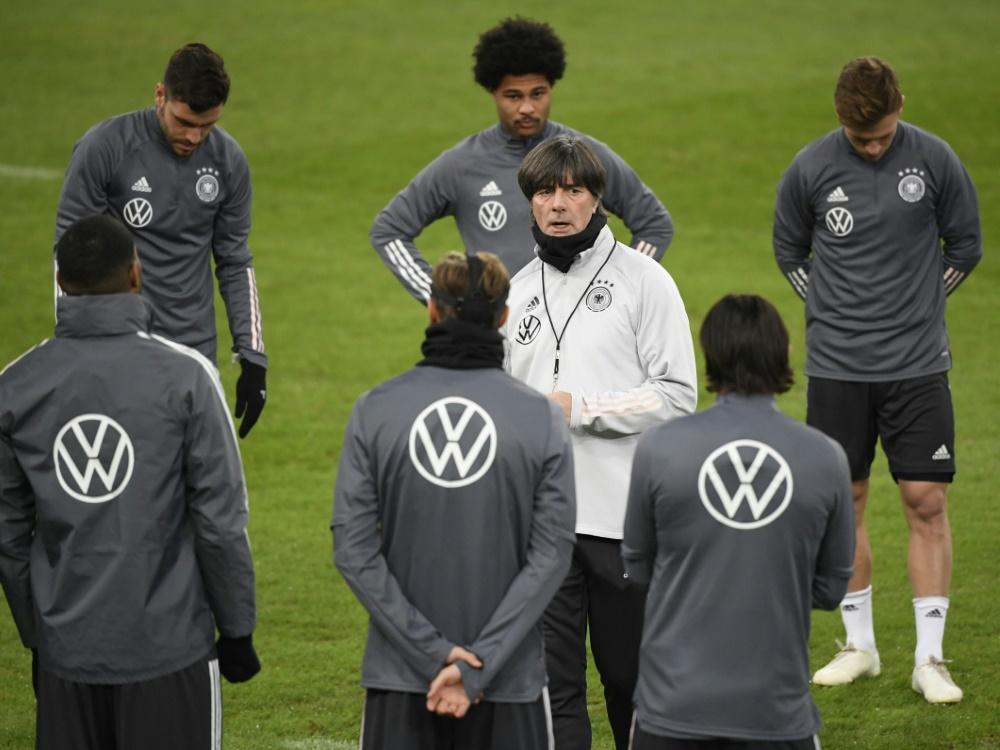 Ende März treffen Löw und das DFB-Team auf Island