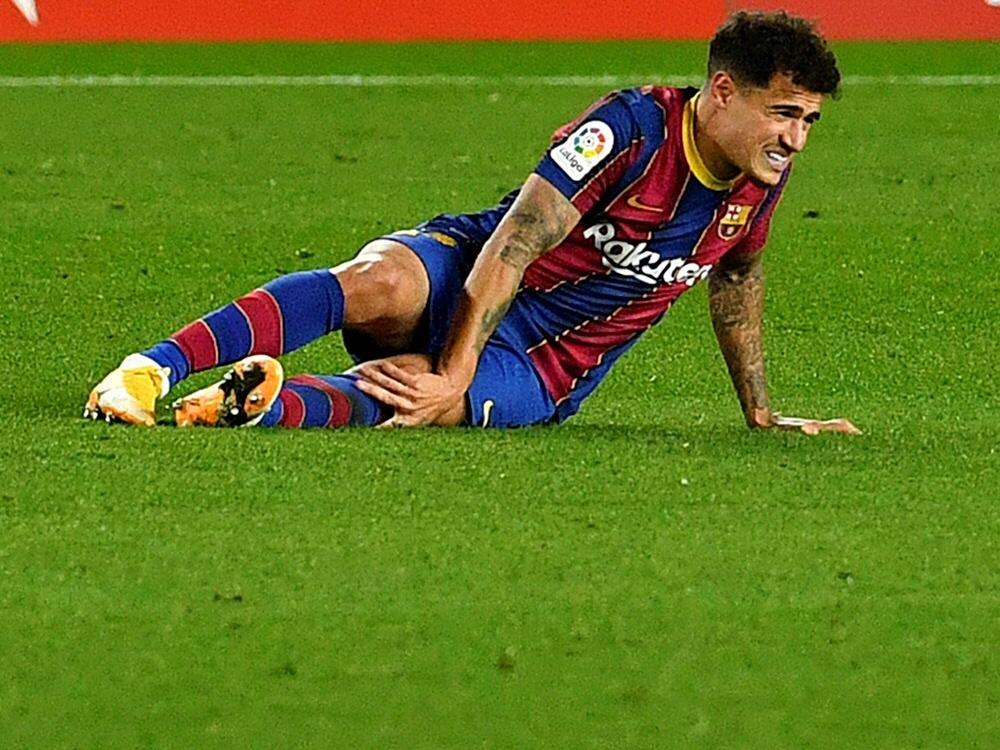 Coutinho wird dem FC Barcelona wohl länger fehlen