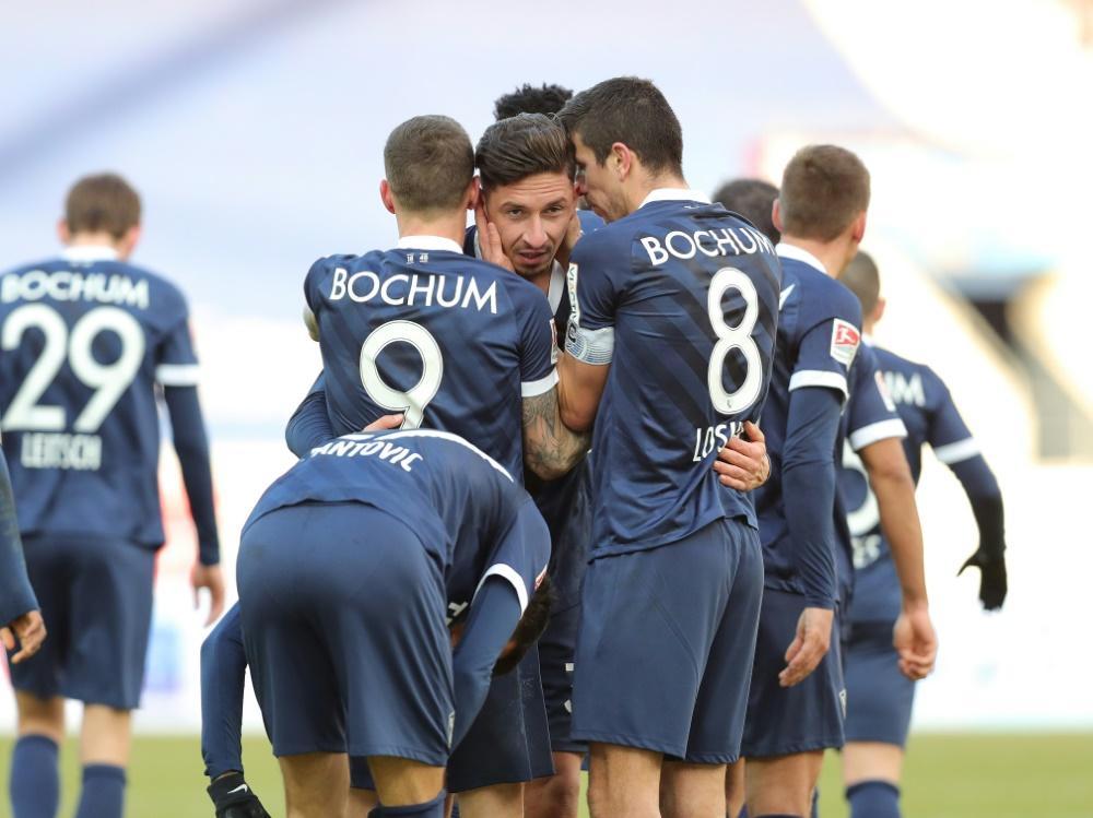 Zwei späte Treffer lassen Bochum jubeln