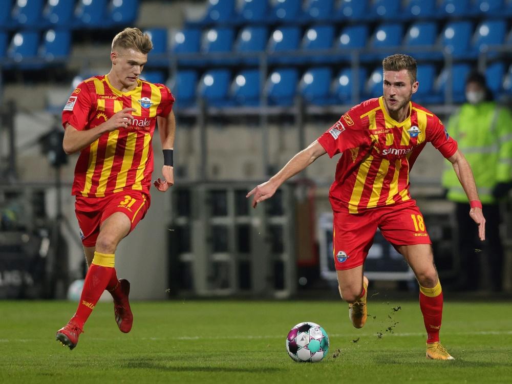 Paderborn holt gegen Aue den sechsten Saisonsieg