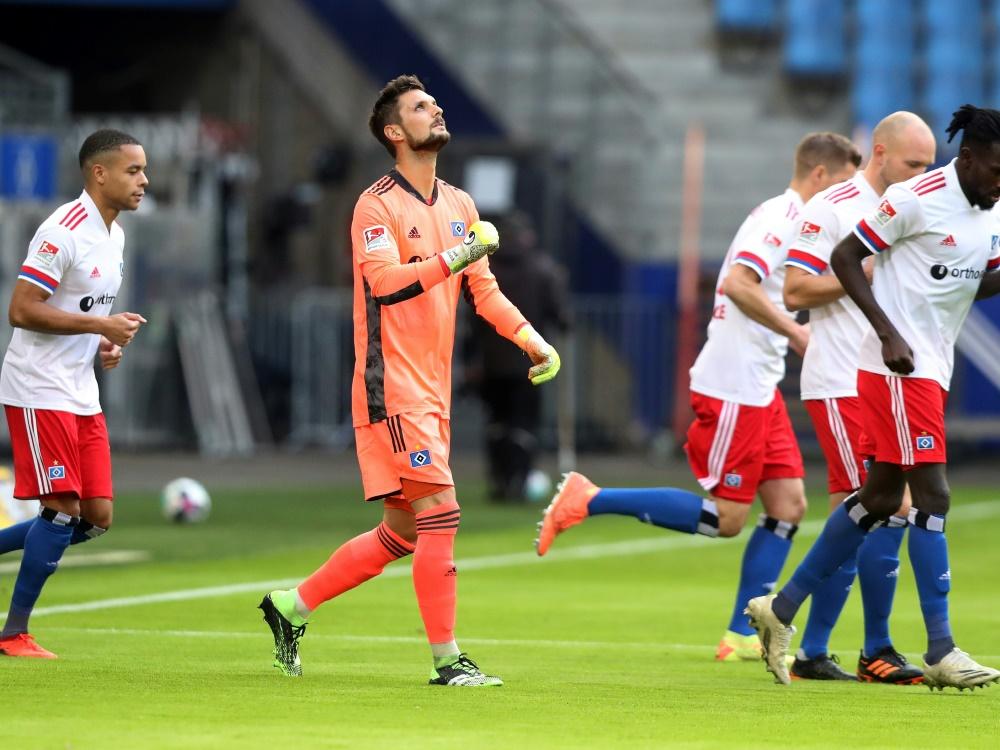 Der Hamburger SV bleibt Spitzenreiter der 2. Bundesliga