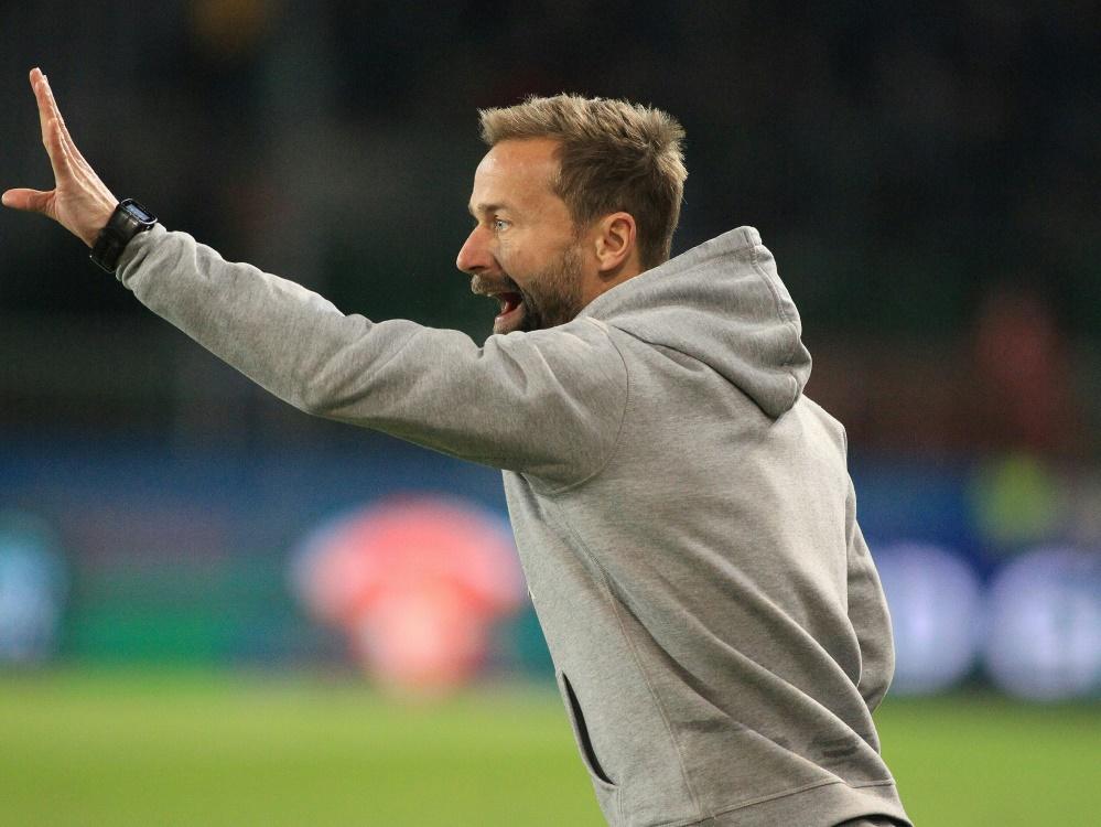 Michael Schiele hat mit Sandhausen drei Punkte geholt