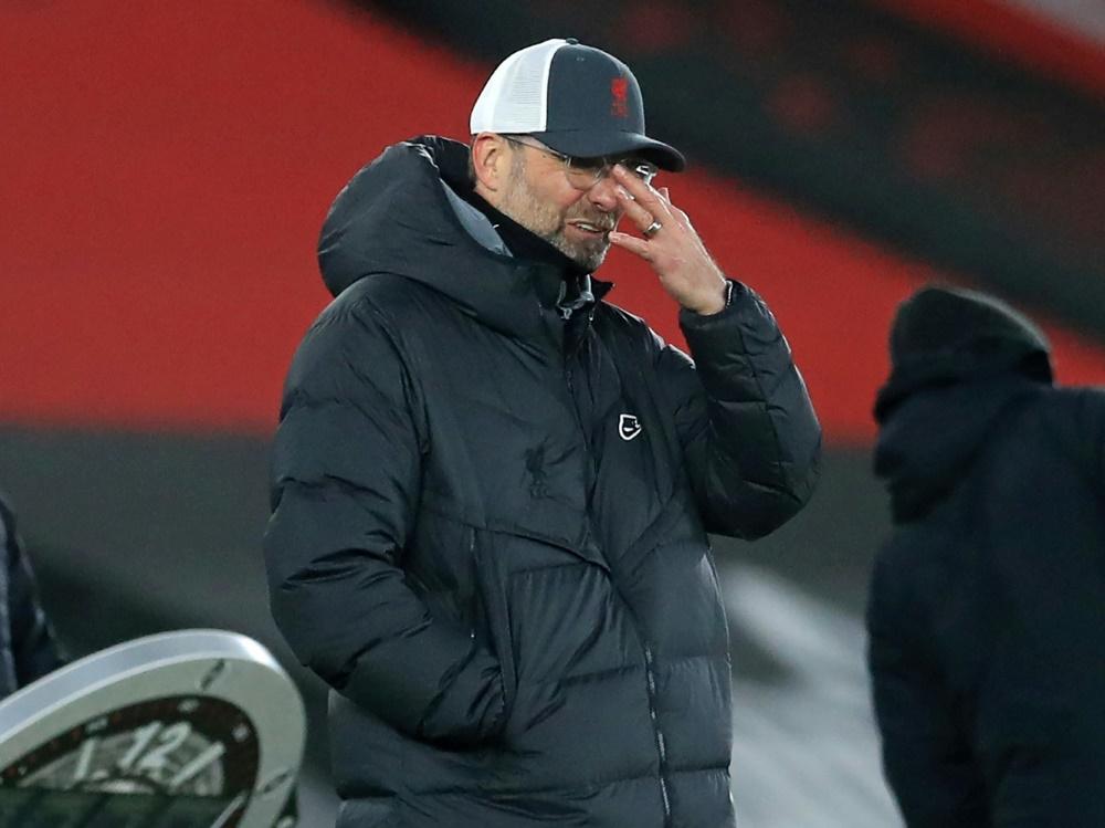 Jürgen Klopps Mannschaft befindet sich in einem Tief