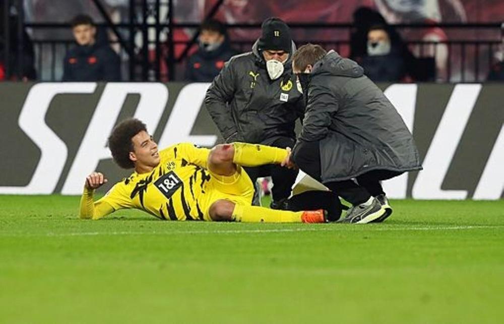 Axel Witsel fällt wegen einem Achillessehnenriss aus