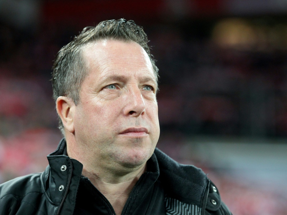 Dresdens Trainer Markus Kauczinski hat Corona