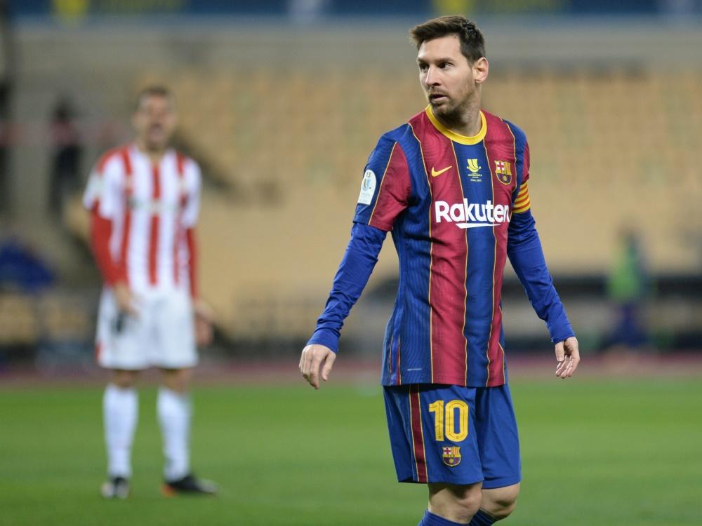 Messi nach Tätlichkeit für zwei Spiele gesperrt