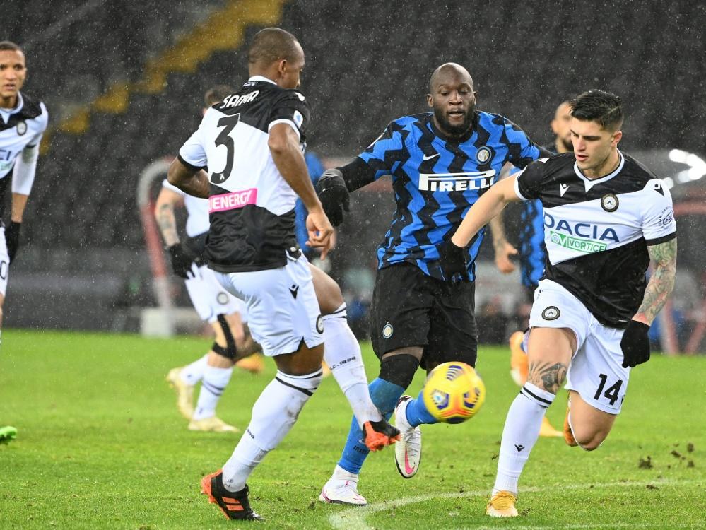 Inter Mailand nutzt Ausrutscher von Lokalrivalen nicht